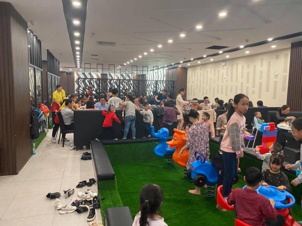 Không gian vui chơi cho các bé tại nhà hàng buffet hải sản poseidon