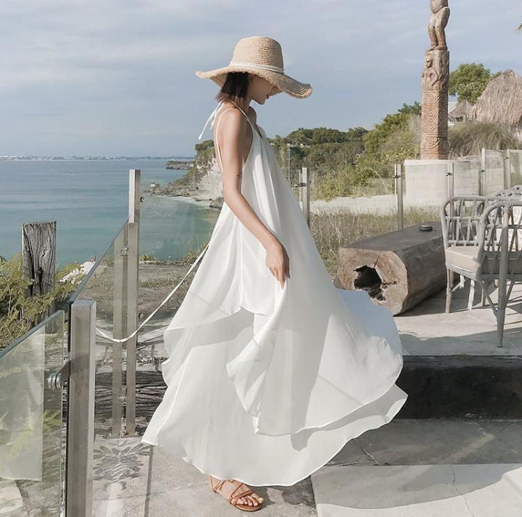 Vặc váy Maxi khi đi Đà Nẵng