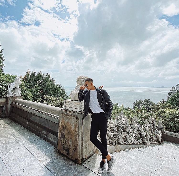 Một outfit cực cool dành cho các bạn nam khi đi Đà Nẵng