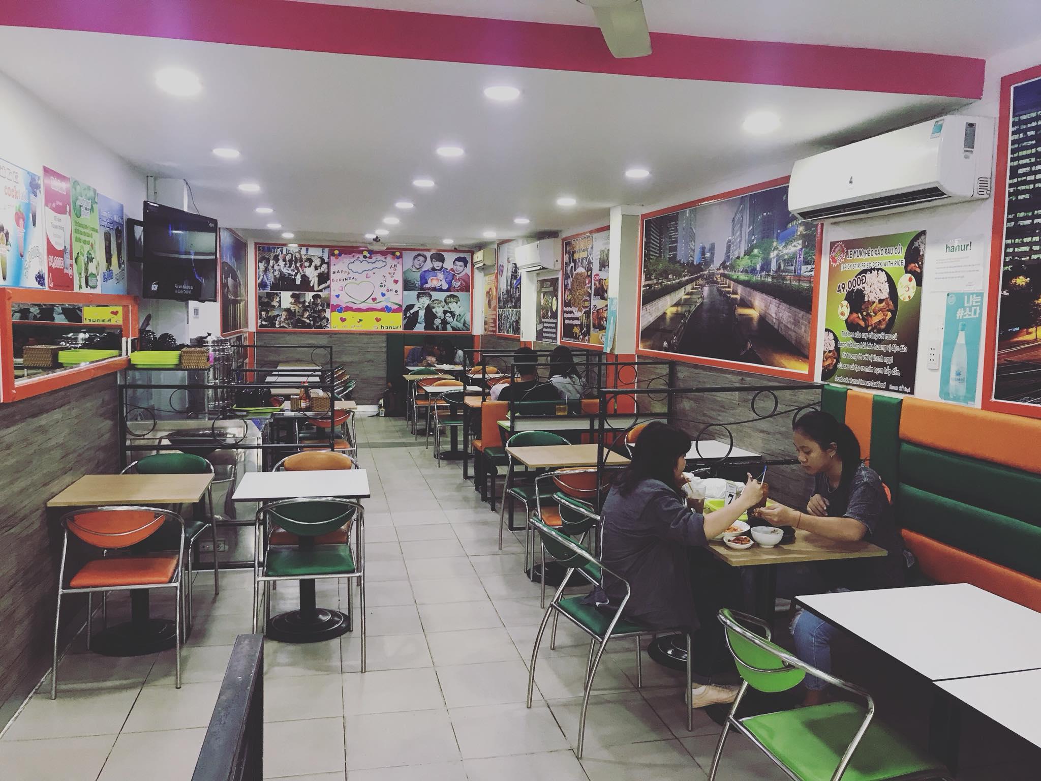 nhà hàng Hanuri Sư Vạn Hạnh