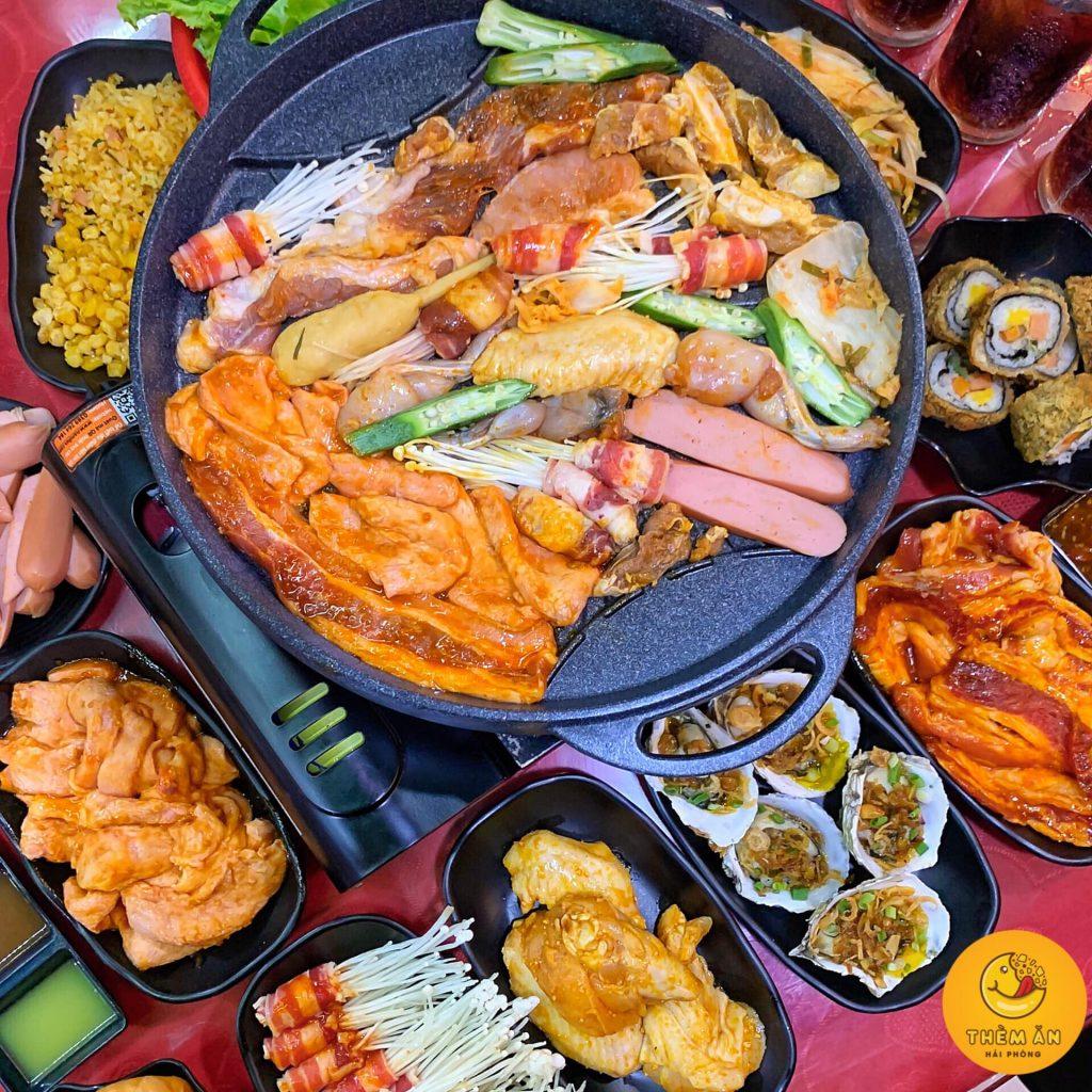 buffet ho pham lau nuong hải phòng