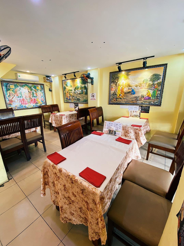 khong gian Khana Khazana Restaurant