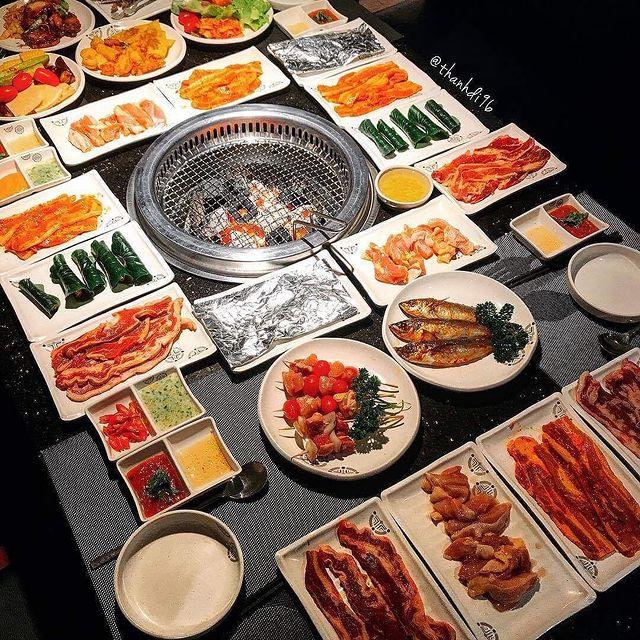 king bbq - quán ăn Hàn Quốc Gò Vấp