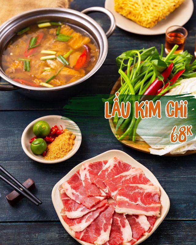 lau kim chi nha hang An Vien