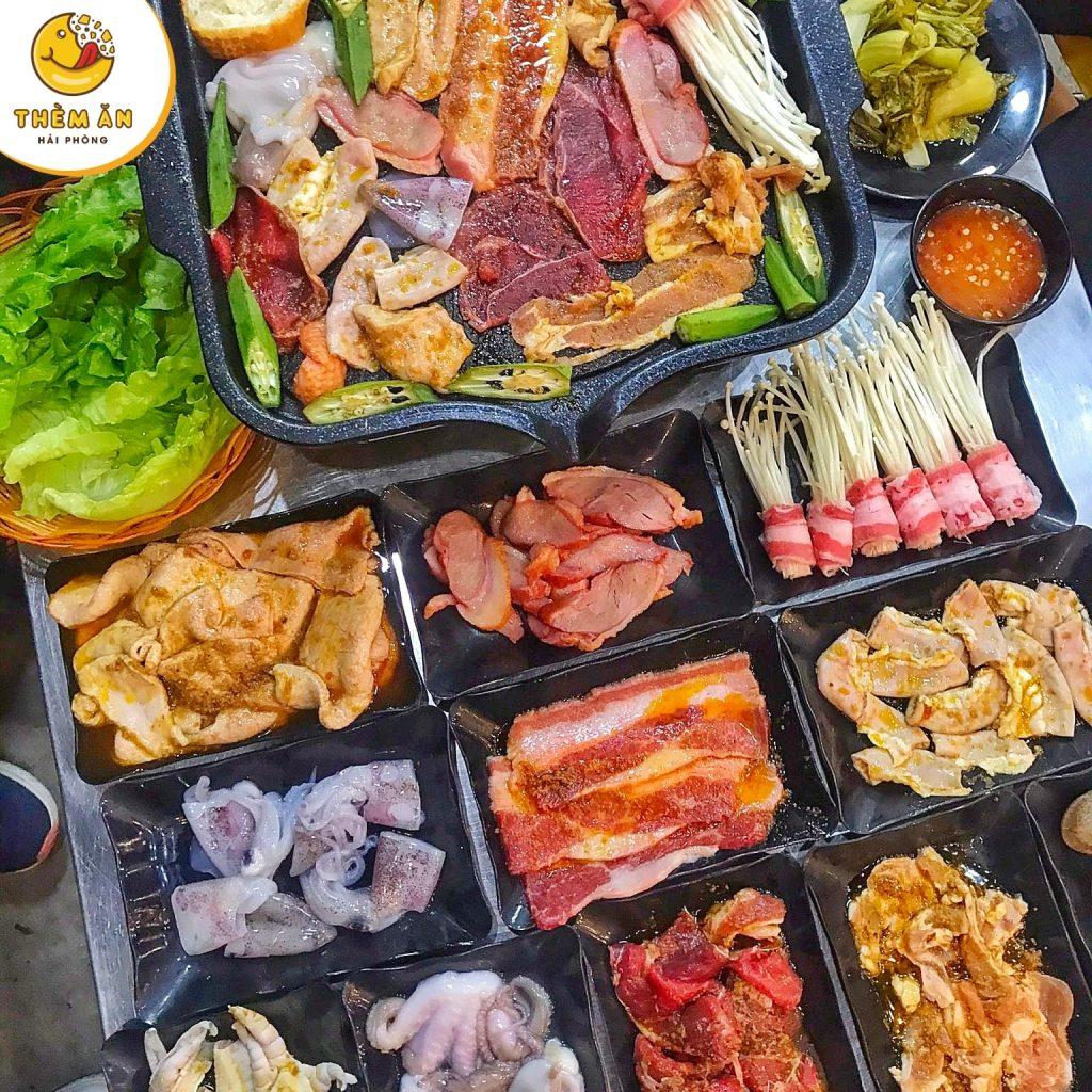 buffet linh chi lau nuong hải phòng