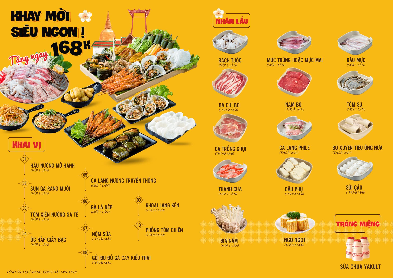 menu thai deli
