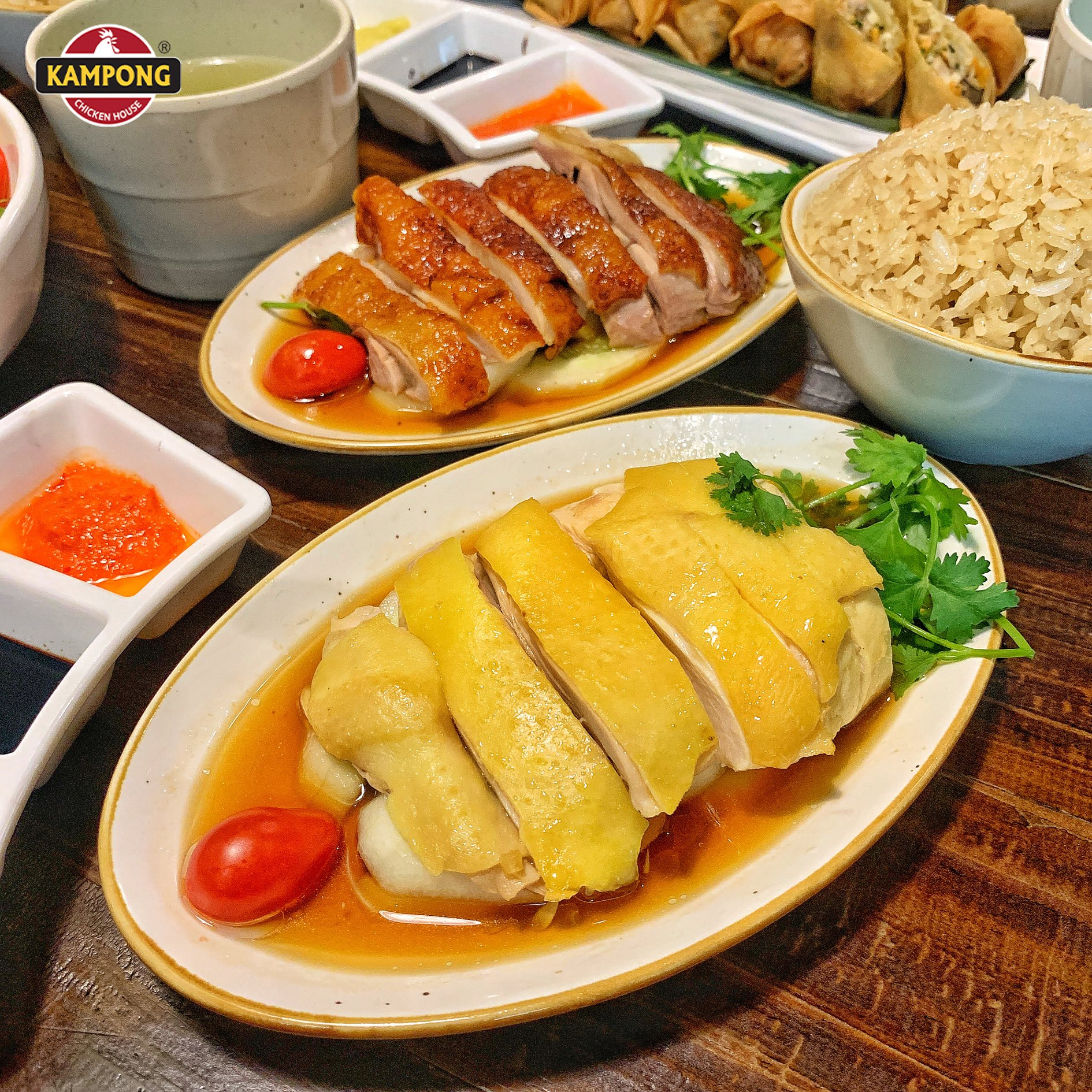mon chinh - com ga kampong