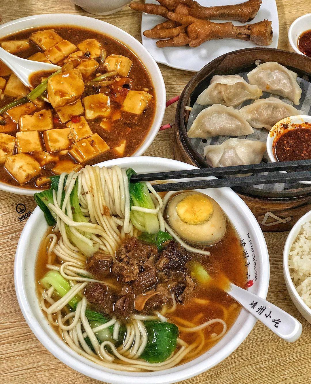 nhà hàng Trung Quốc ở Hà Nội - quán Anh Béo