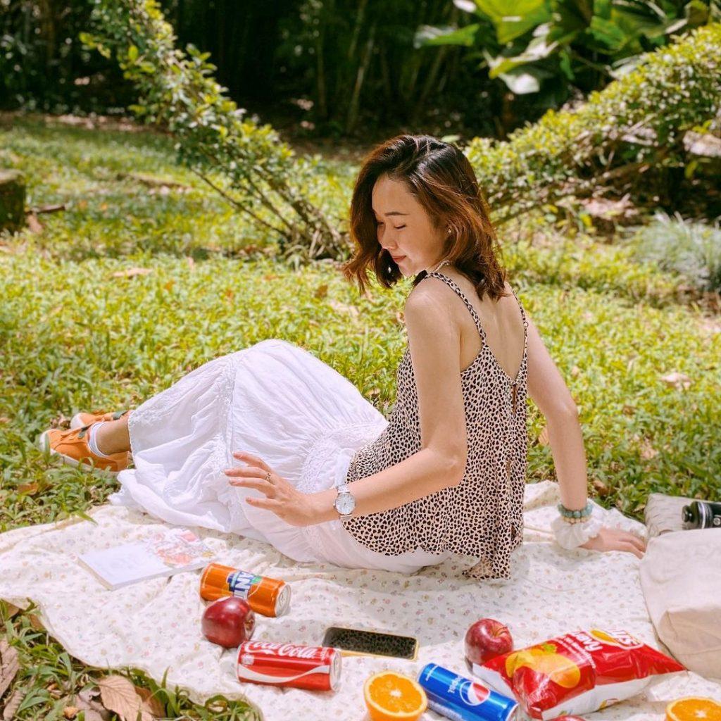 picnic o thao cam vien