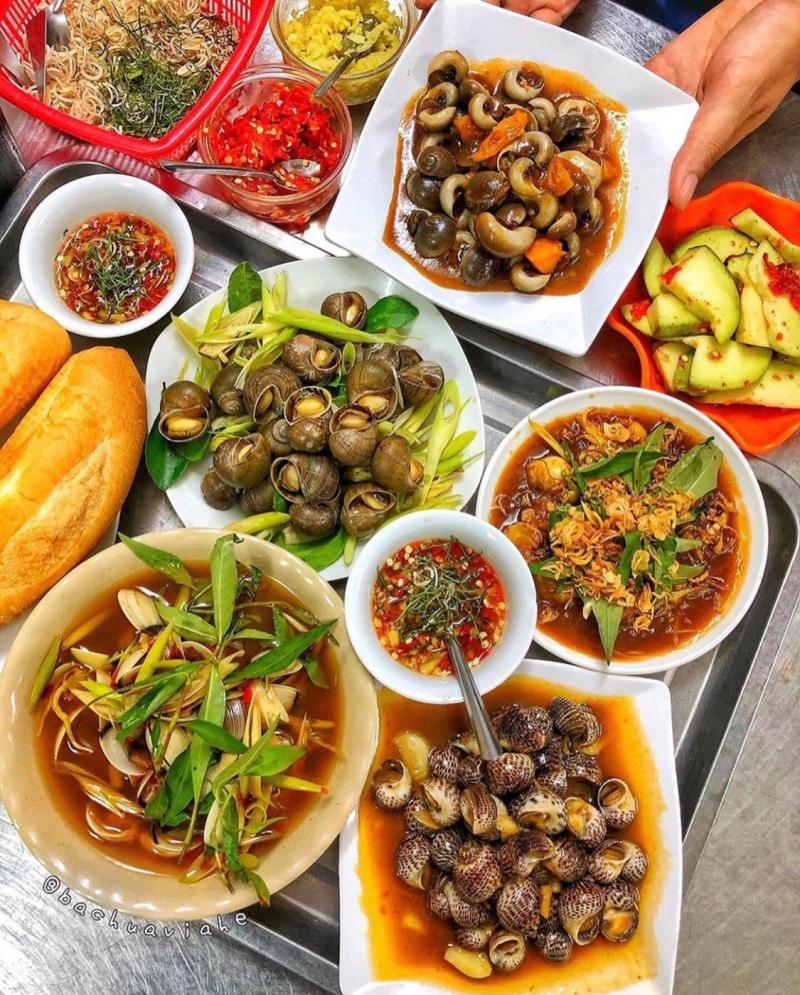 Quán ăn ngon ở Long Hải - Nghĩa