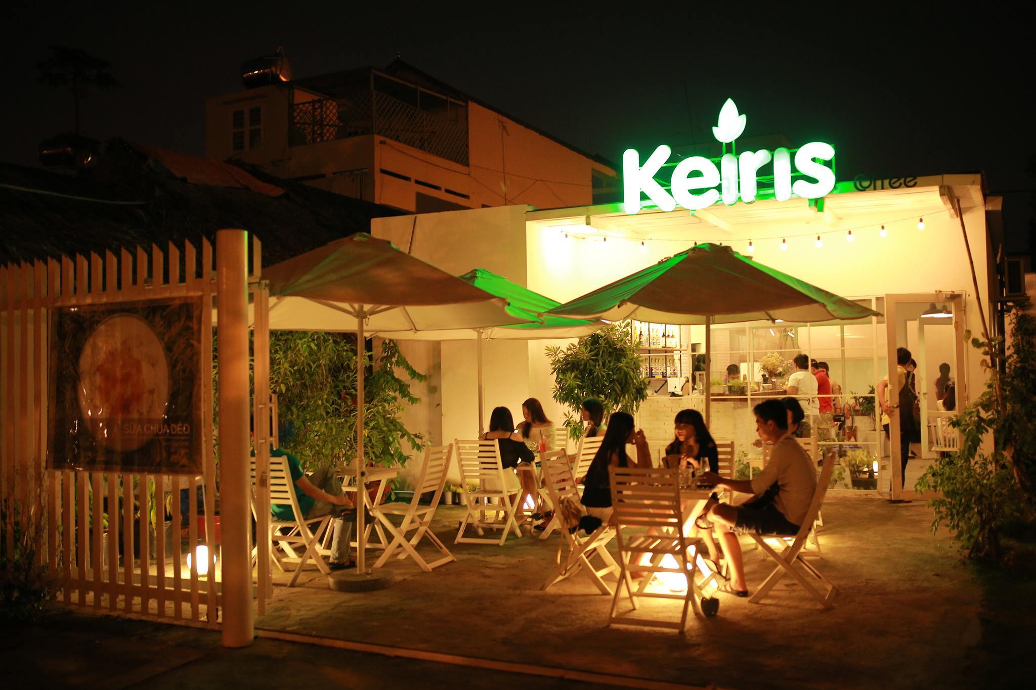 Keiris - Quán cafe đẹp ở Bình Dương