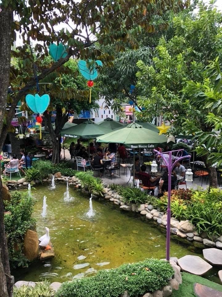 Cafe Rose House - Cafe đẹp ở Bình Dương