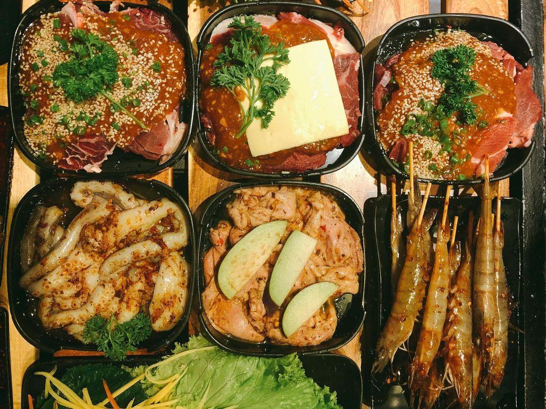 Panda BBQ Sài Gòn được yêu thích bởi menu đa dạng, hấp dẫn