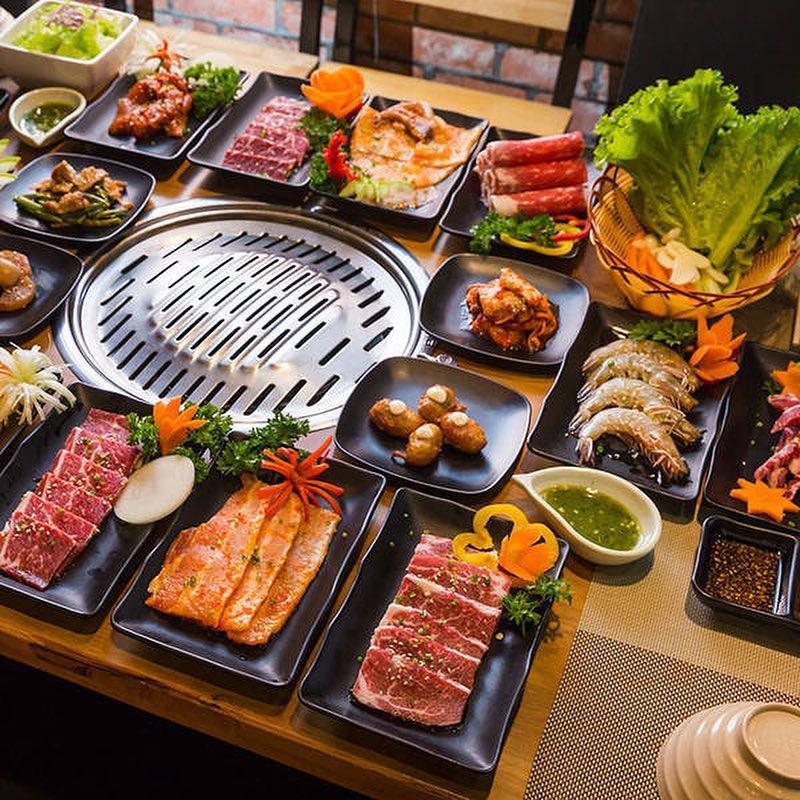 Taka BBQ gây ấn tượng với thực khách bởi menu hấp dẫn và vô cùng đa dạng
