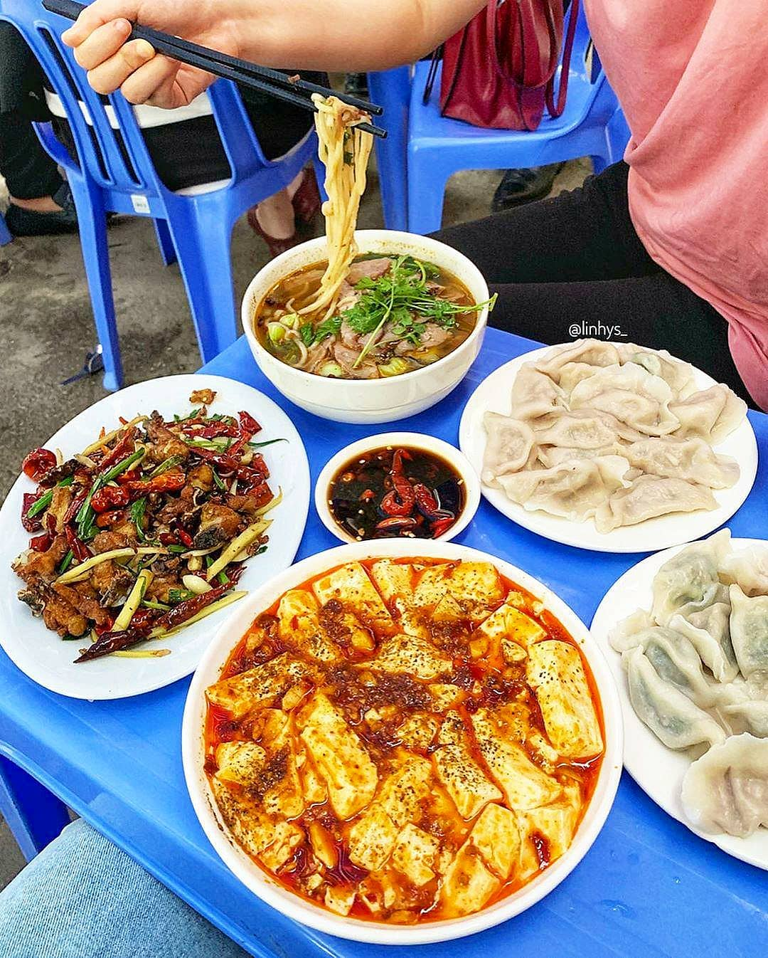 sủi cao Đông Bắc - nhà hàng Trung Quốc ở Hà Nội