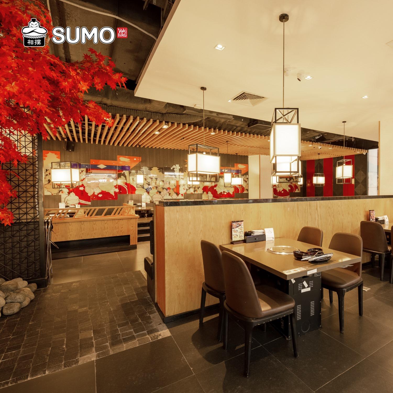 Không gian tại Sumo BBQ Hà Nội