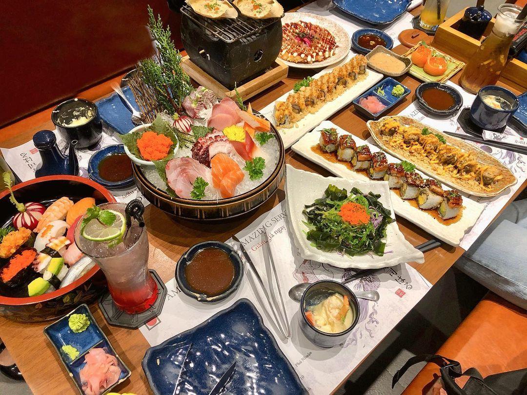 sushi phan xich long