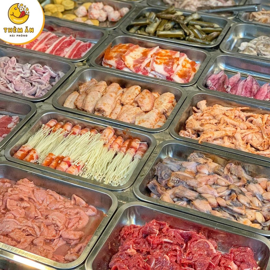 buffet toan lau nuong hải phòng