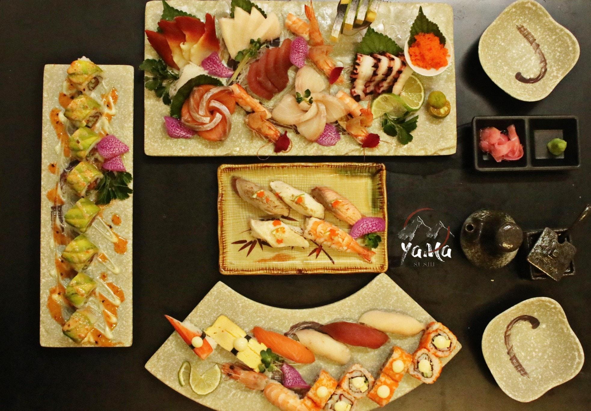 yama sushi quan an Nhat o Go Vap
