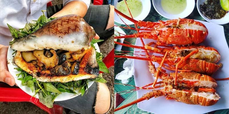 Quán ốc Long Vũ - nhà hàng hải sản Nha Trang