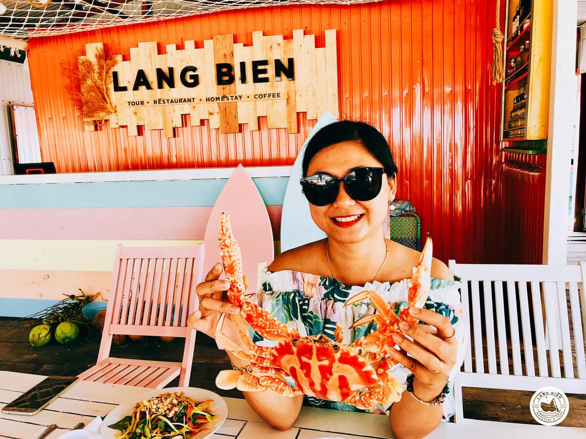 Làng Biển - nhà hàng hải sản Nha Trang