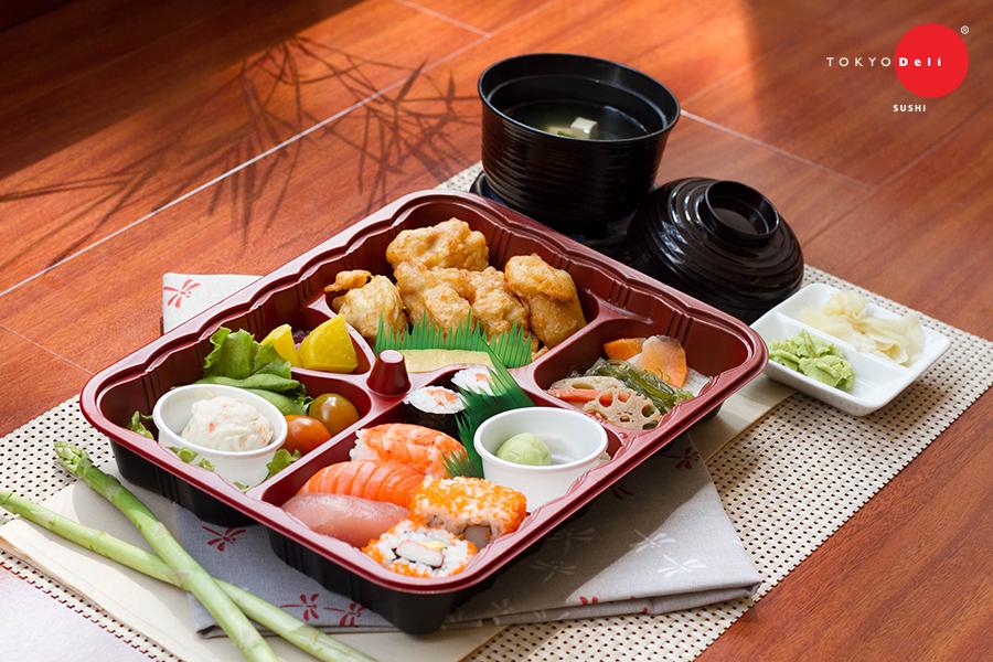 Bento o Tokyo Deli Sushi