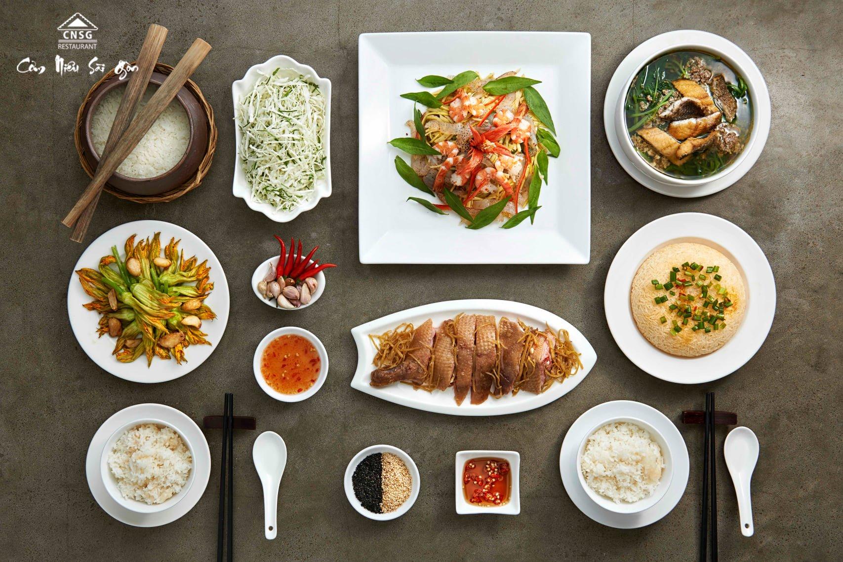 nhà hàng Cơm niêu Sài Gòn
