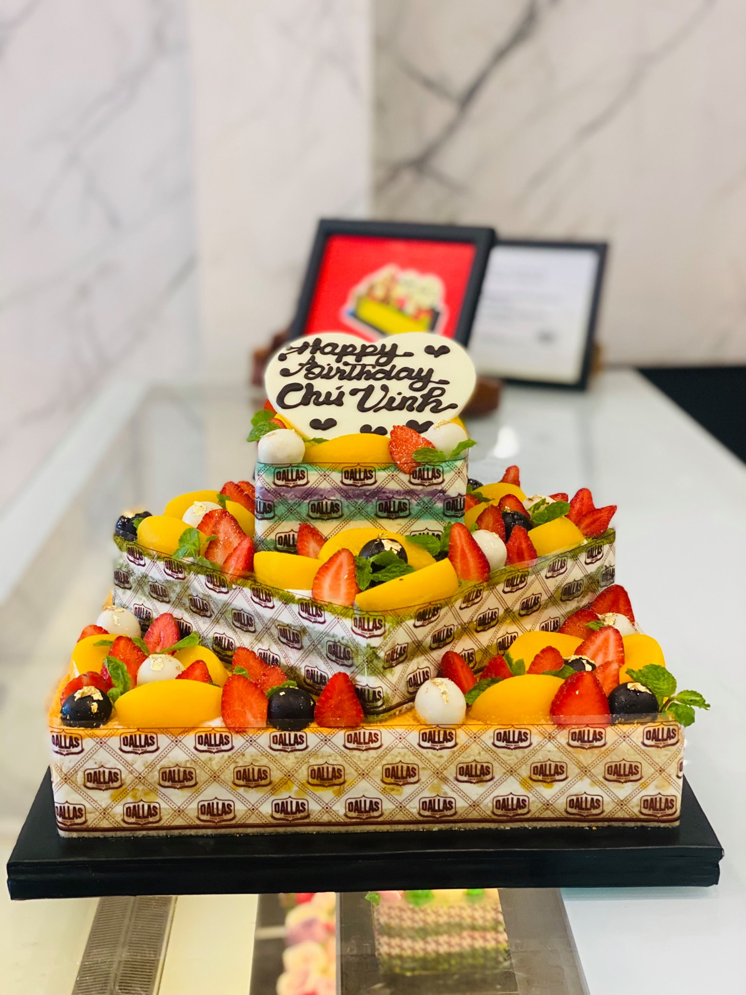 Dallas Cake