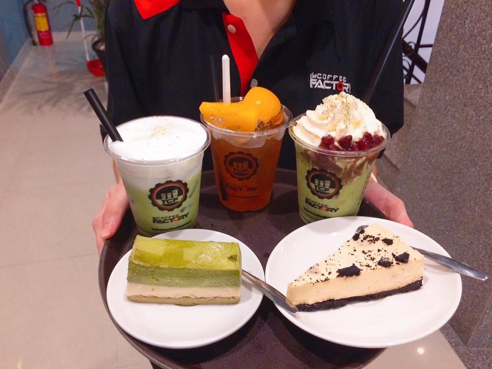 Do uong o The Coffee Factory