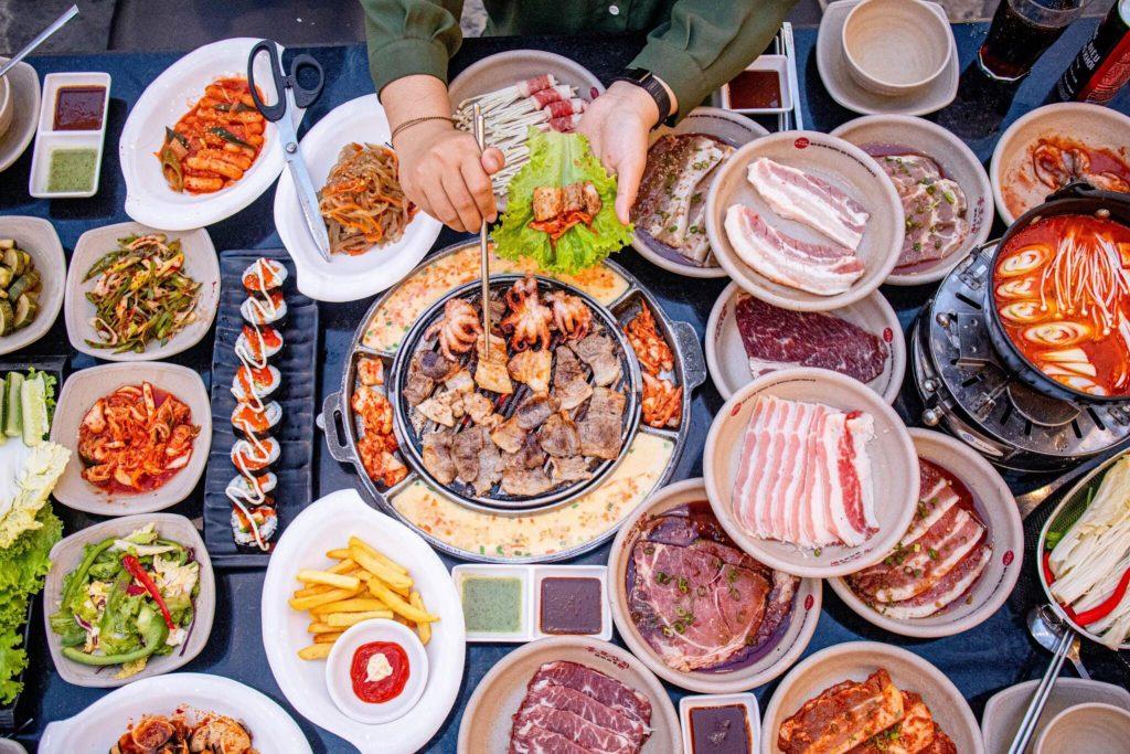 Jongro buffet nuong da nang 1