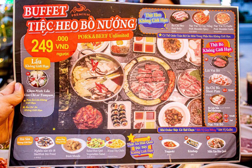 Jongro buffet nuong da nang