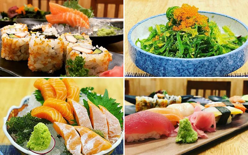 Sushi-Ginza - sushi quận 3