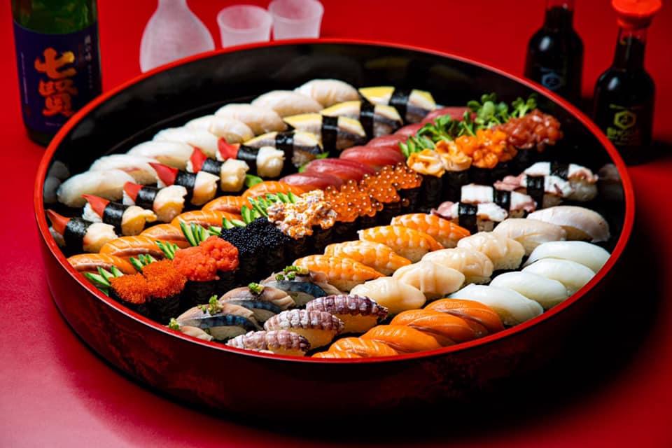nha hang o binh duong the sushi