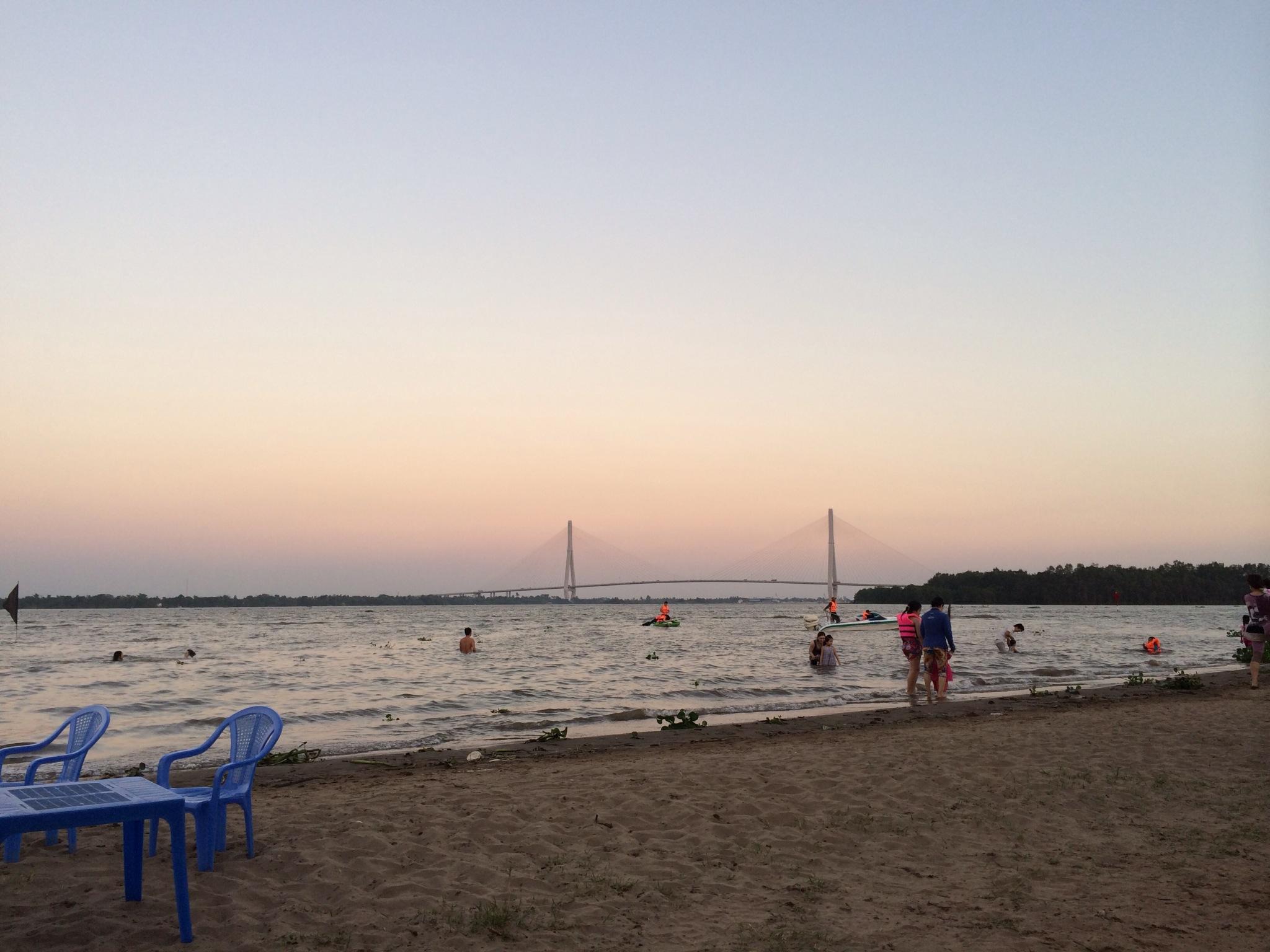 bãi biển cần thơ địa điểm du lịch cần thơ