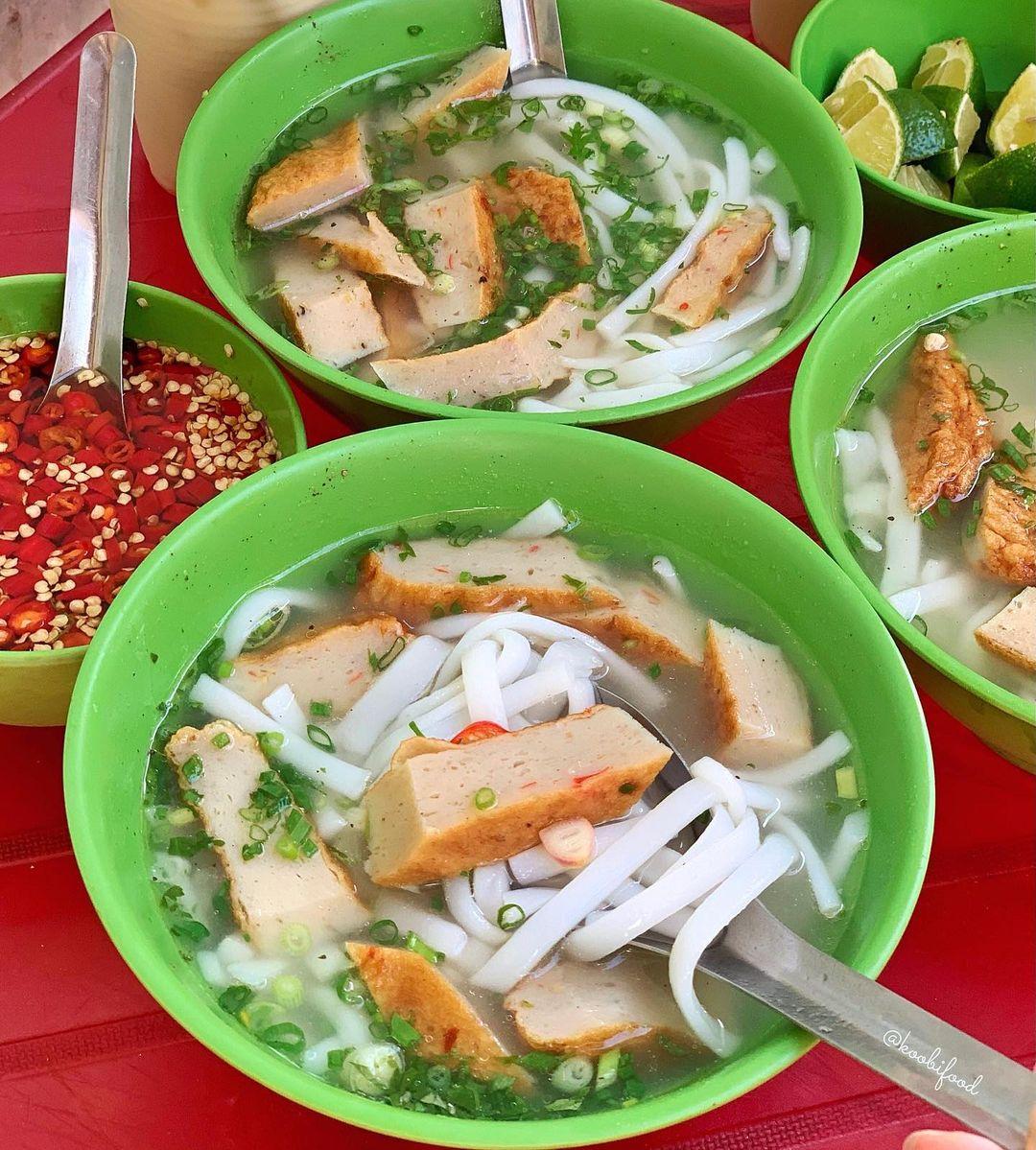 banh canh cha ca an sang vung tau koobifood
