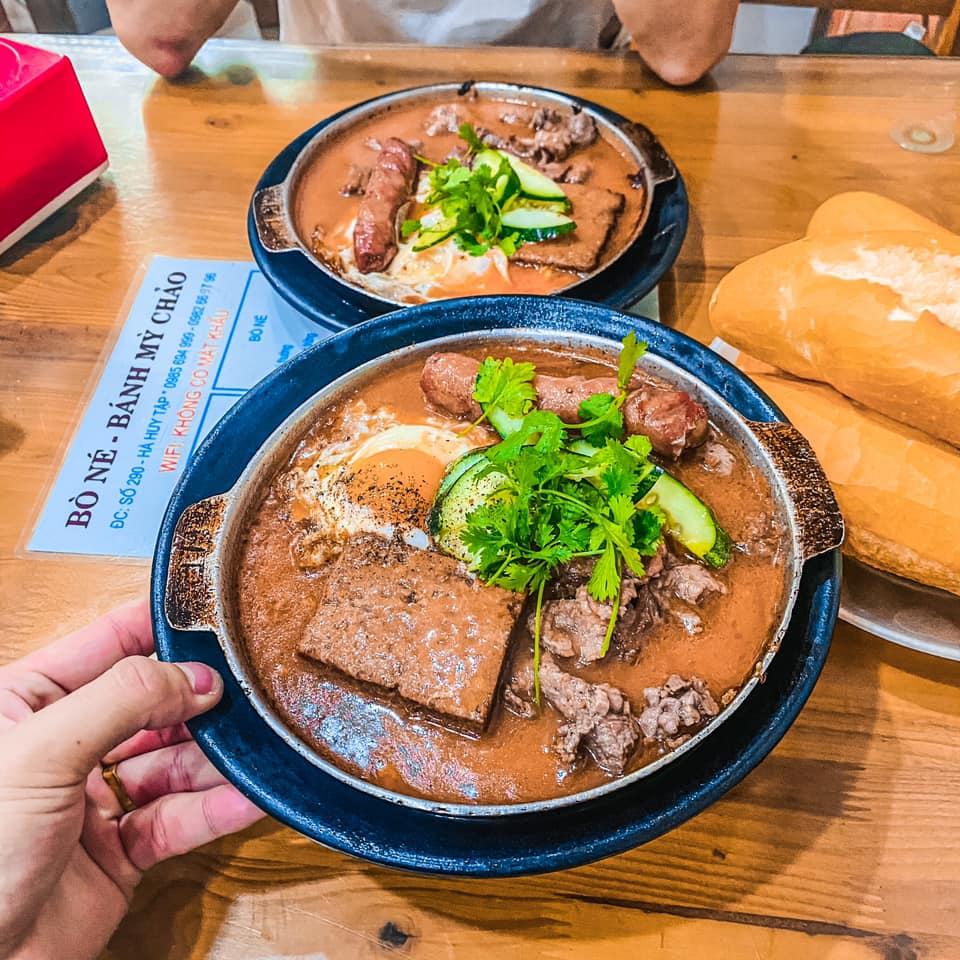 quán ăn ngon ở vinh nghệ an bò né hà huy tâp