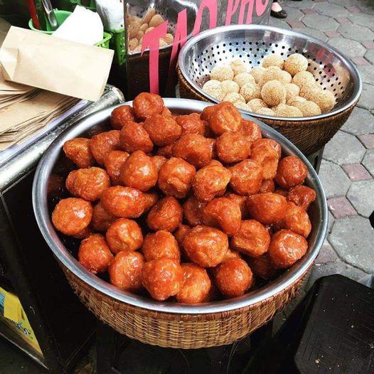 banh ran Tran Xuan Soan - Thùy Linh