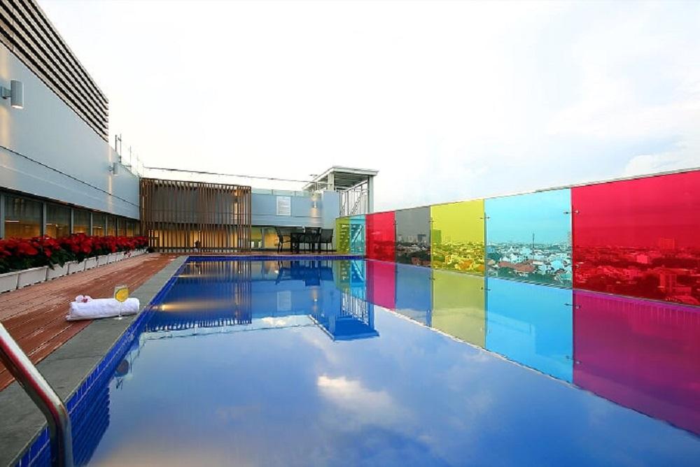 khách sạn quận 2 bể bơi