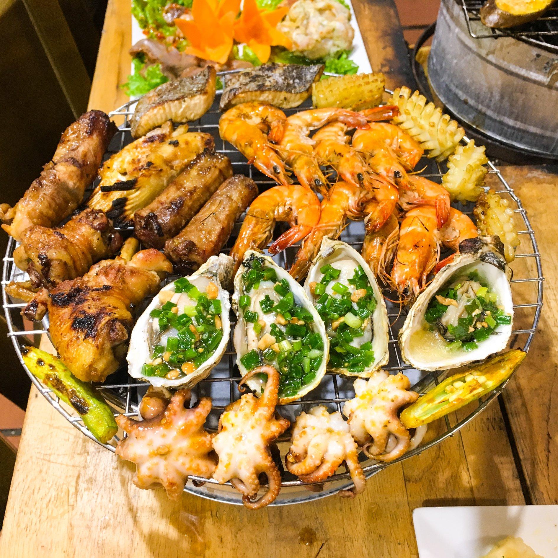 buffet nuong Zallo buffet Nha Trang
