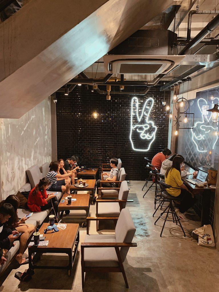 chesse coffee hong bang
