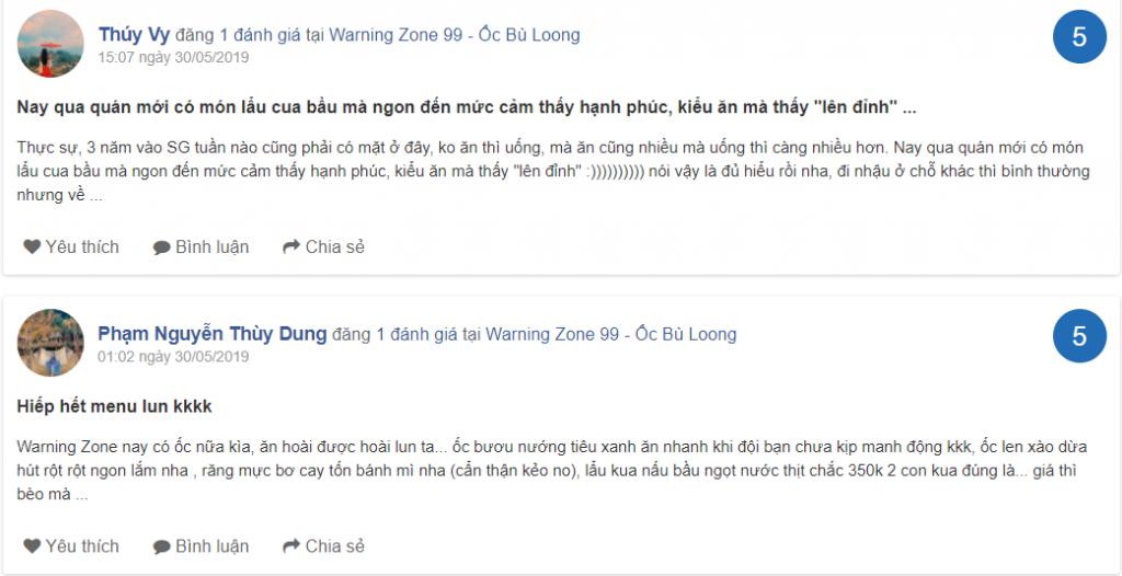 danh gia Warning Zone Vo Van Tan