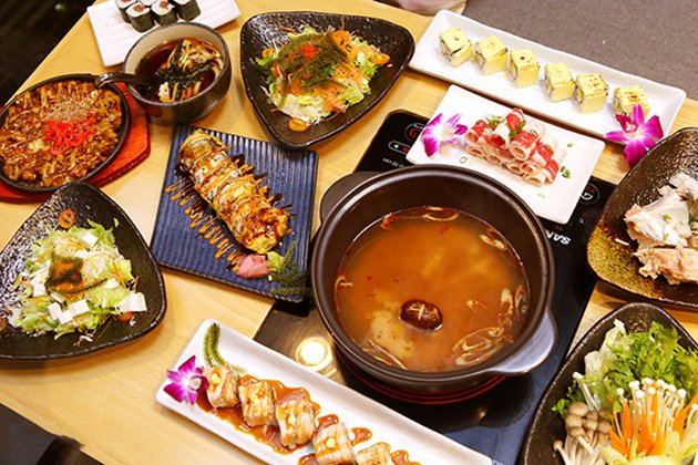 furano sushi nha hang Nhat quan 7