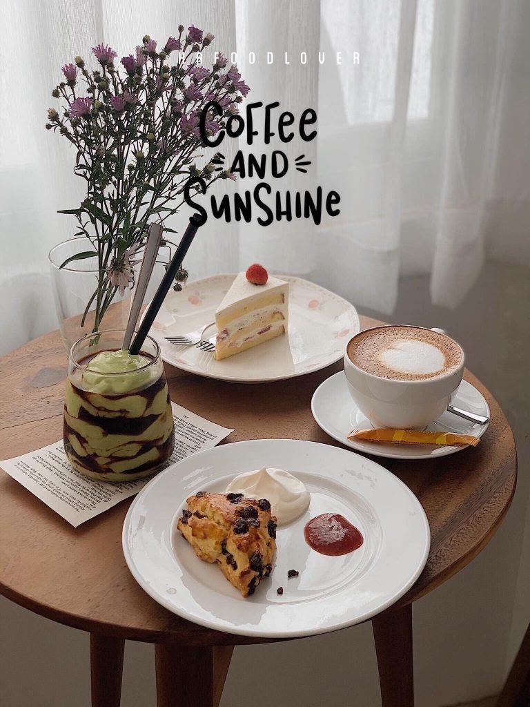 gateau de blanc quan cafe