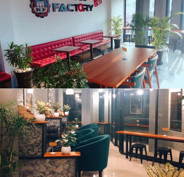 Factory coffee - quán cà phê quận 6