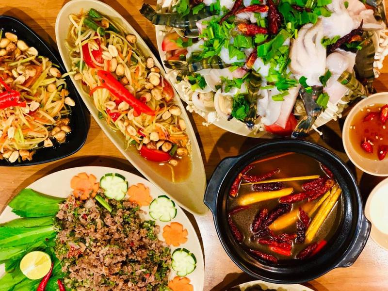Mango Story Sài Gòn - món thái quận 10