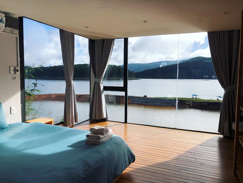 the seen house homestay hồ tuyền lâm