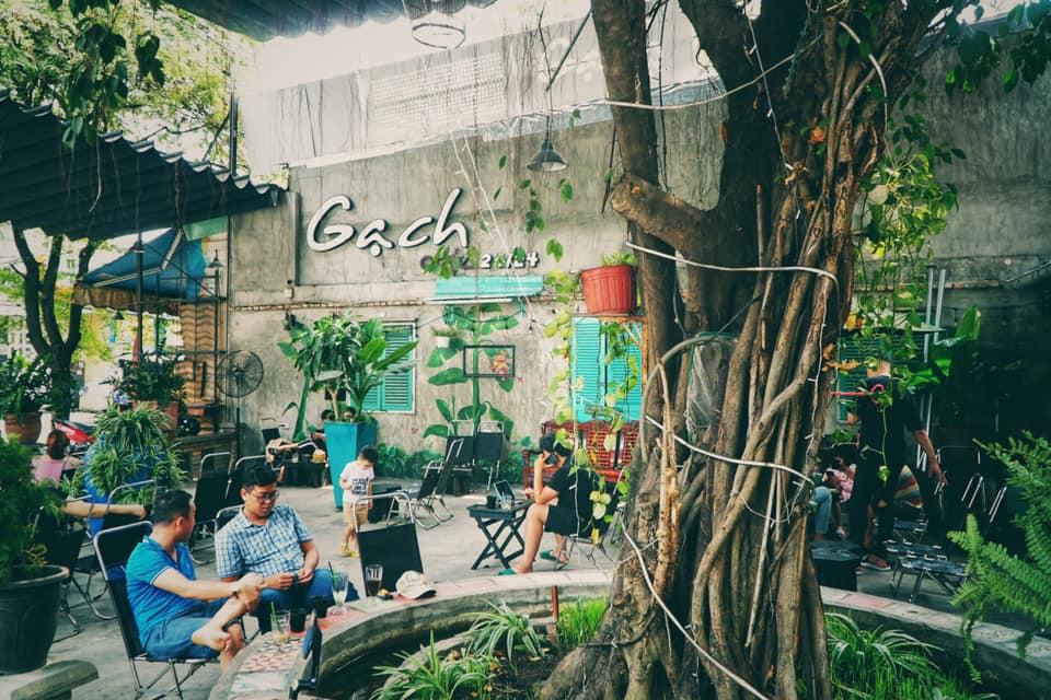 Gạch cafe - quán cafe quận 11