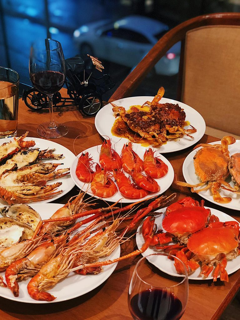 sai gon seafood buffet 1