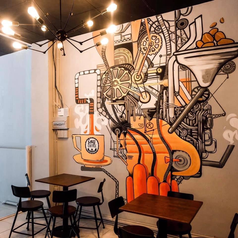 say coffee quán cafe đẹp quận 10