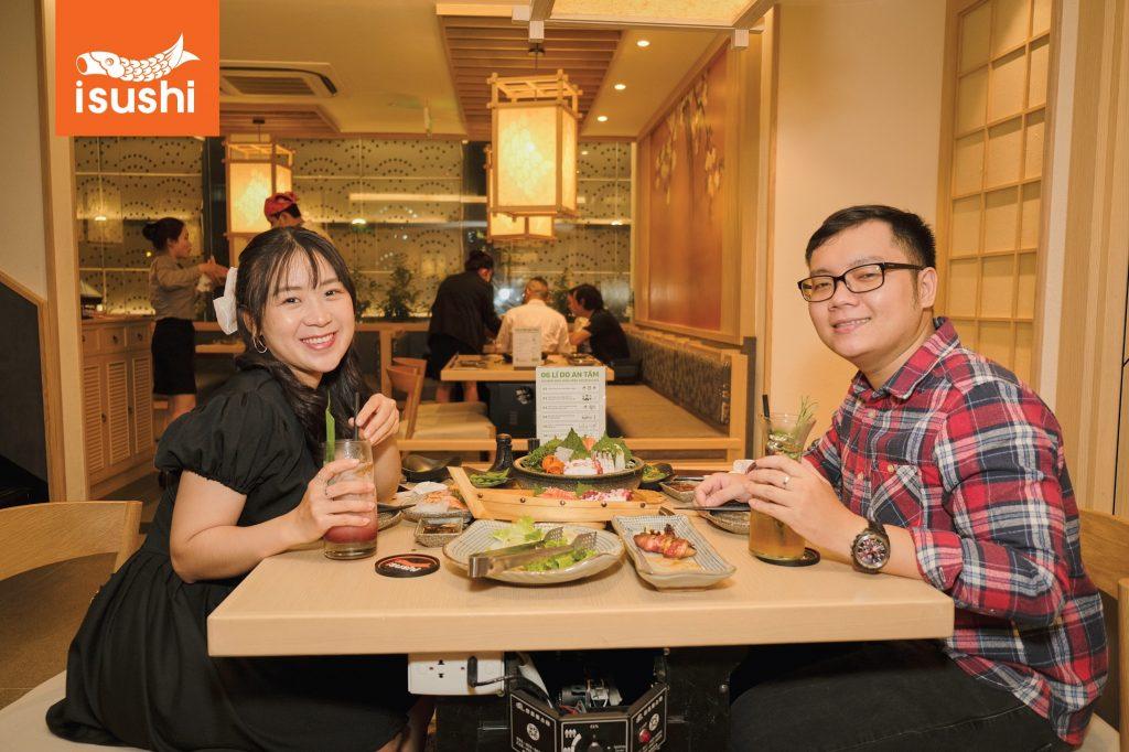sushi quận 3 nổi tiếng